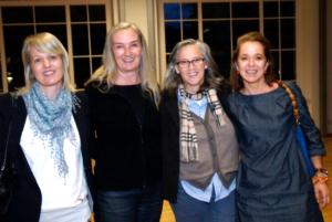 Homöopathin Lisa Majhenic mit Monika Fink, Margit Stocker und Karin Prantner - © Sigrid Einwaller-Juen